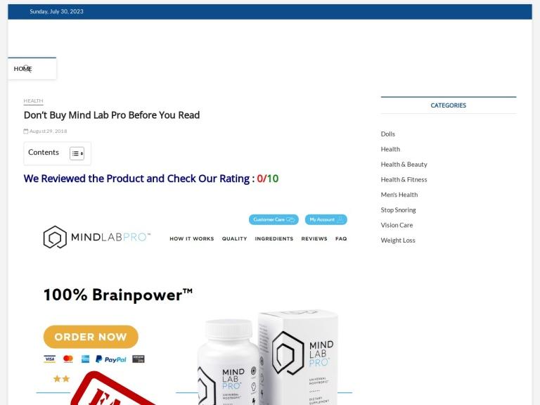 Mind Lab Pro screenshot
