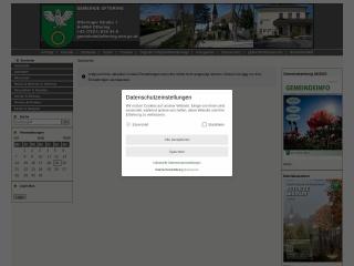 Screenshot der Website oftering.at