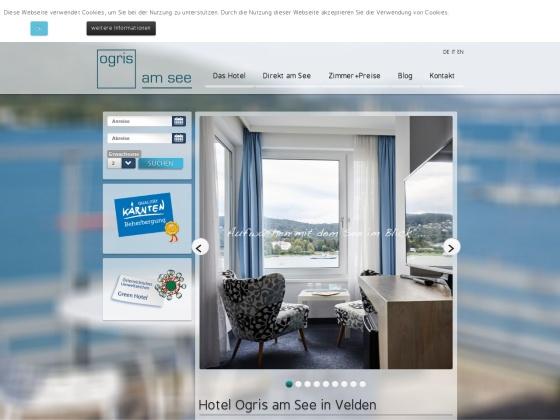 Hotel OGRIS AM SEE, Velden am Wörthersee, Austria