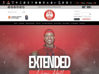screenshot olimpiamilano.com