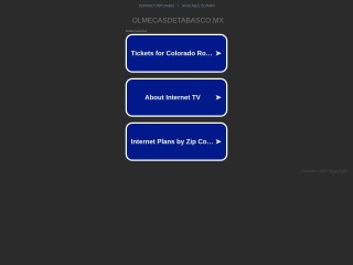 Captura de pantalla para olmecasdetabasco.mx