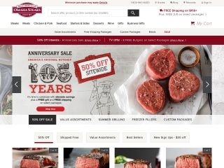 screenshot omahasteaks.com