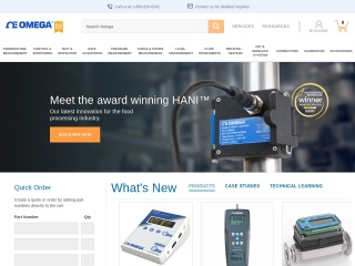 Screenshot for omega.com