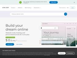 One.com Usa Affiliate Program screenshot