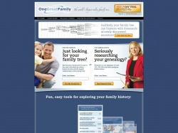 Onegreatfamily Affiliate Program screenshot