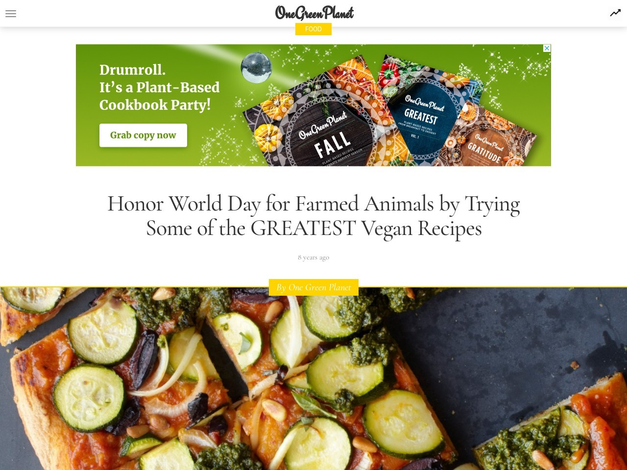 Honor World Day for Farmed Animals by Trying Some of the …