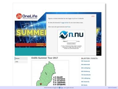 www.onelifesummertour2017.n.nu