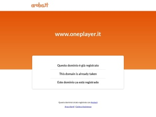 screenshot oneplayer.it