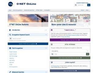 Screenshot for onetonline.org
