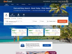 http://www.onetravel.com coupon and discount codes