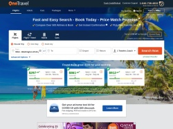 onetravel.com screenshot