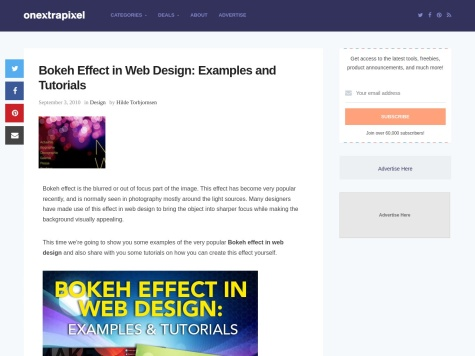 http://www.onextrapixel.com/2010/09/03/bokeh-effect-in-web-design-examples-and-tutorials/