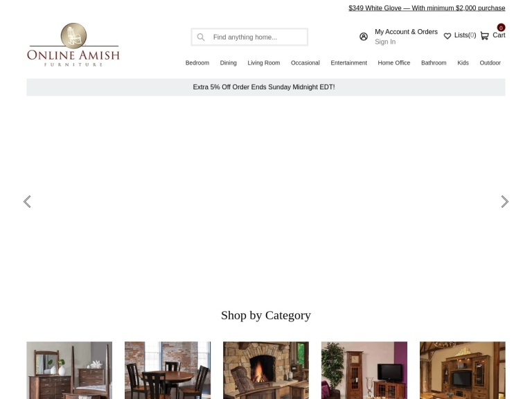 Amish Furniture Coupon Codes
