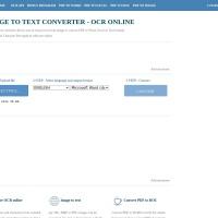 <br /></noscript> FREE ONLINE OCR SERVICE