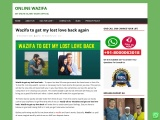 Wazifa to get my lost love back again