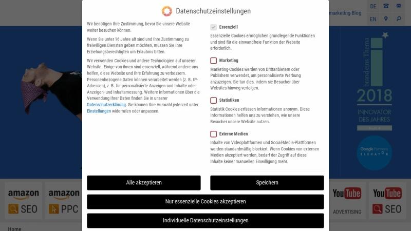 www.onmarketing.de Vorschau, OnMarketing