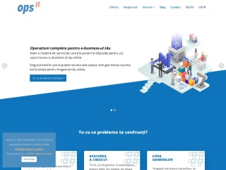 Screenshot al site-ului open.ro