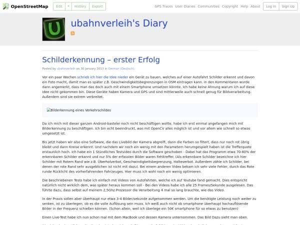 http://www.openstreetmap.org/user/ubahnverleih/diary/18497