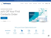 OptiContacts Coupon Codes & Discounts