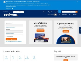 Screenshot for optimum.net