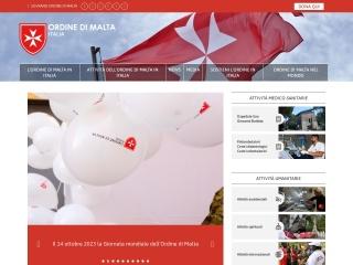 screenshot ordinedimaltaitalia.org