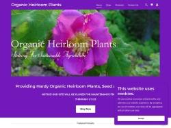 Organic Heirloom Plants