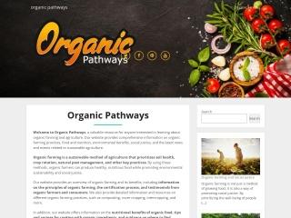 Screenshot for organicpathways.co.nz