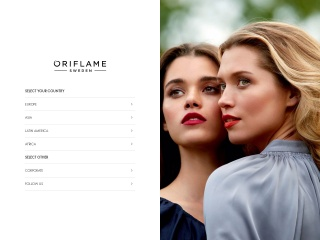 Screenshot for oriflame.com