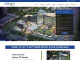 Orion One 32 Commercial Project Noida