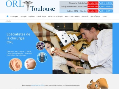 Chirurgie ORL Toulouse