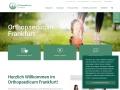 www.orthopaedicum-frankfurt.de Vorschau, Orthopaedicum Frankfurt