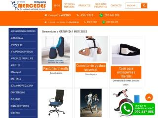 Captura de pantalla para ortopediamercedes.com.uy