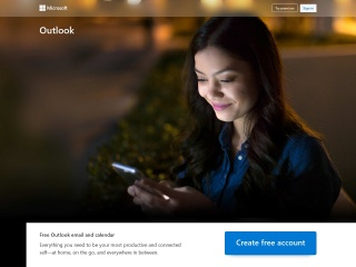 Captura de pantalla para outlook.com