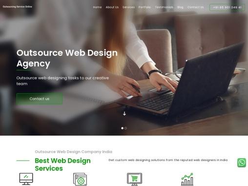 Outsource web development services   Outsourcing development company