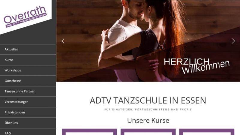www.overrath.de Vorschau, Tanzschule Overrath