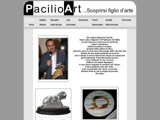 screenshot pacilioart.it