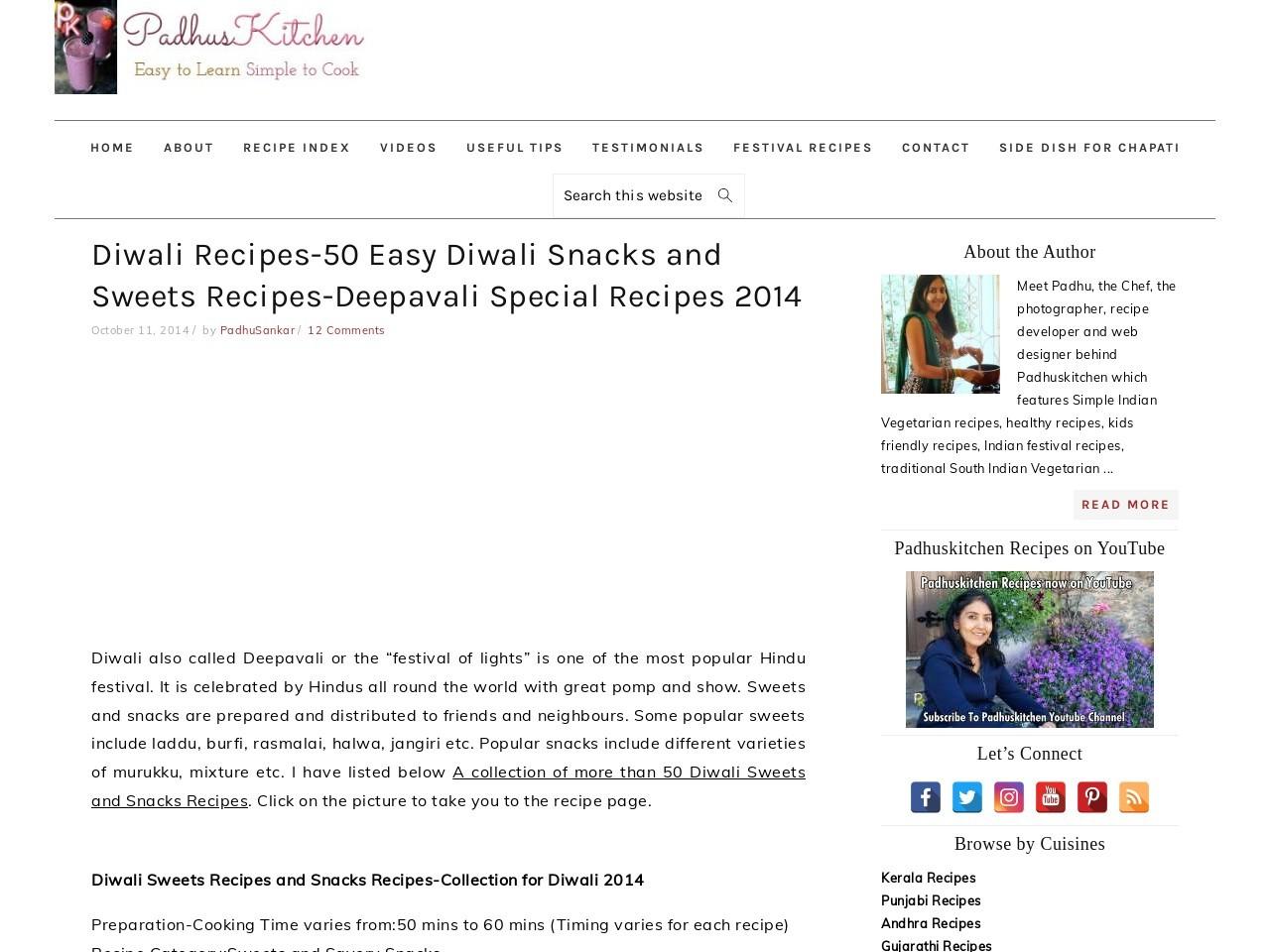 Diwali Recipes-50 Easy Diwali Snacks and Sweets Recipes …