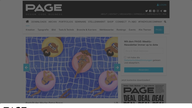 www.page-online.de Vorschau, PAGE Weblog - Ebner Verlag GmbH & Co. KG