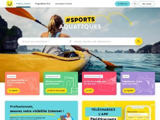Capture d'écran pour pagesjaunes.fr