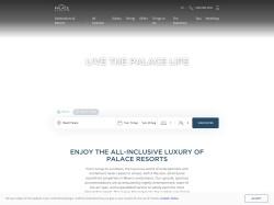 Palace Resorts screenshot