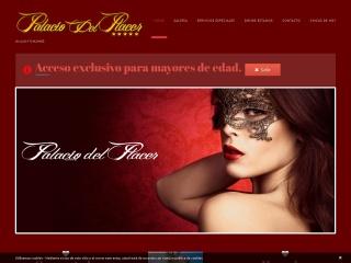 Captura de pantalla para palaciodelplacer.es