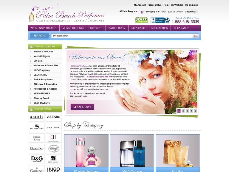 Palm Beach Perfumes Coupon Codes