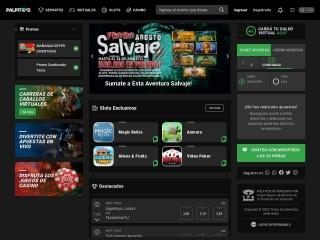 Captura de pantalla para palpitos24.com.ar