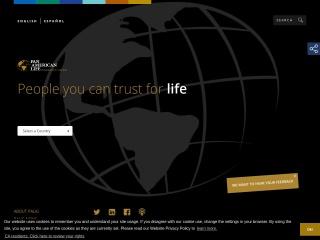 Screenshot for panamericanbenefits.com
