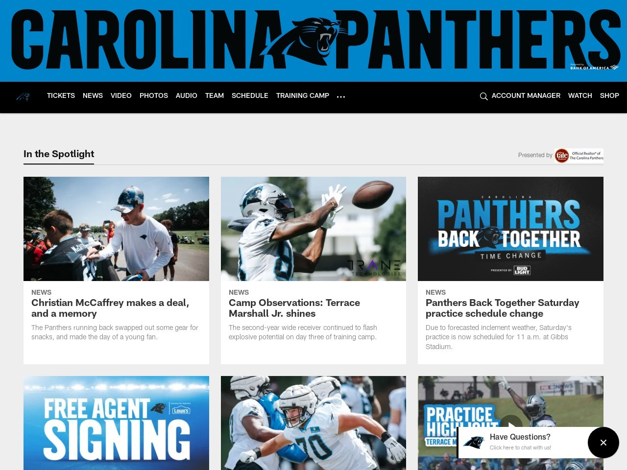 What We Learned: Panthers at Saints