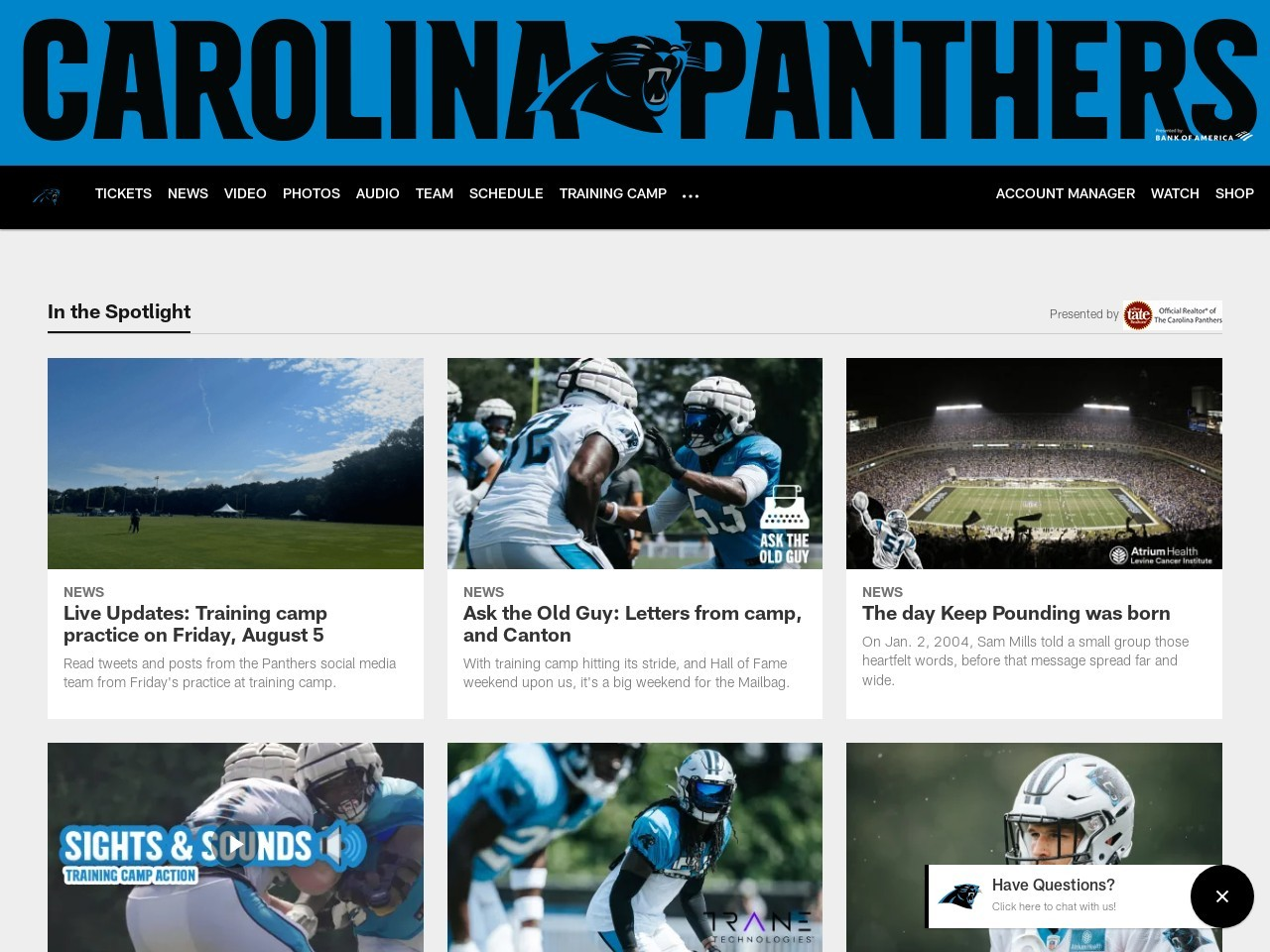 Panthers sign Connor Wujciak, waive Drew Iddings