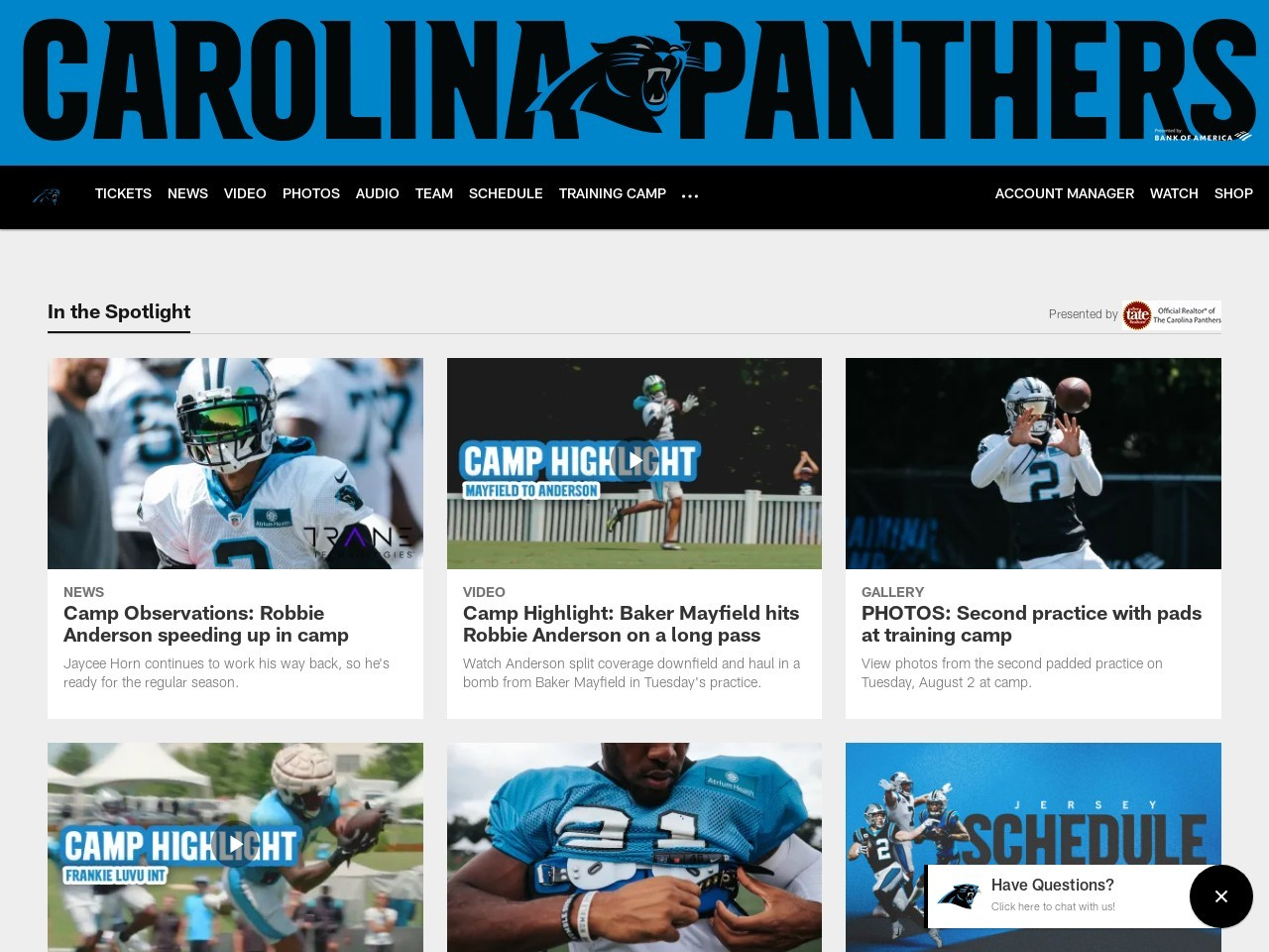 Social Recap: Panthers at Jaguars