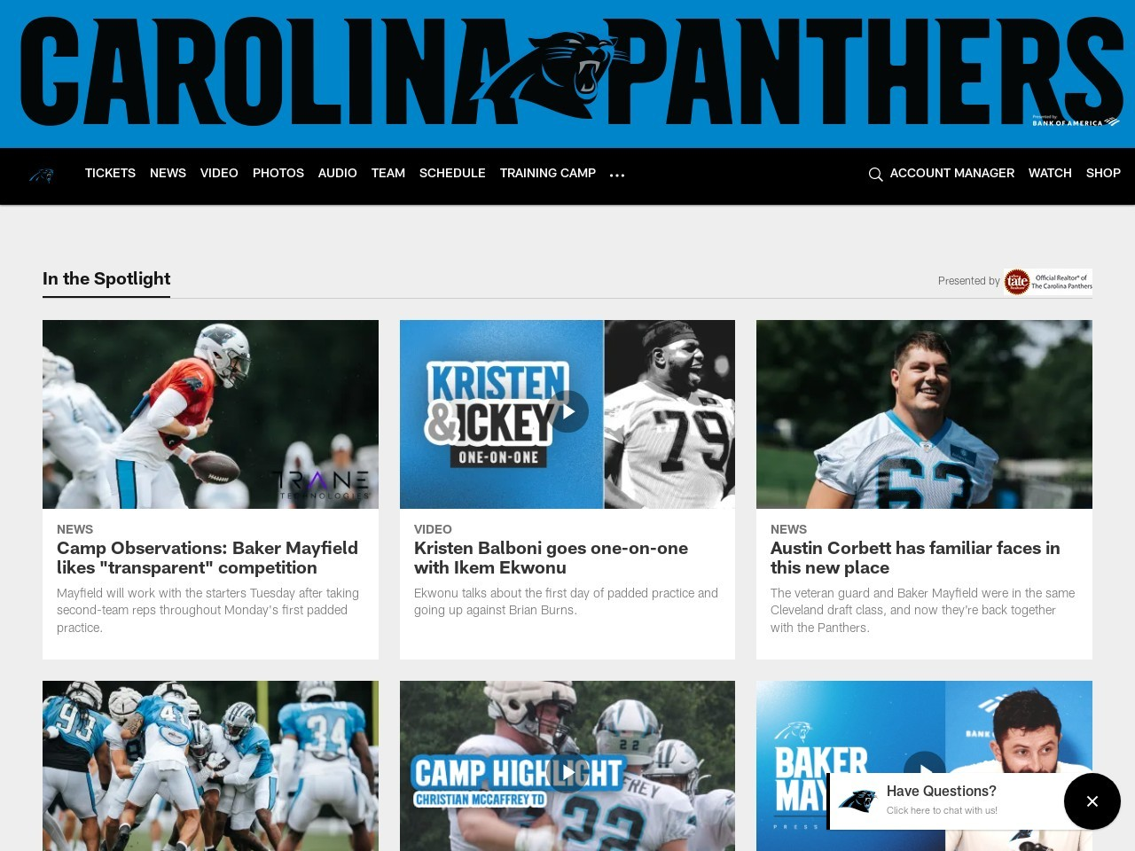 Facts and Figures: Panthers vs. Dolphins