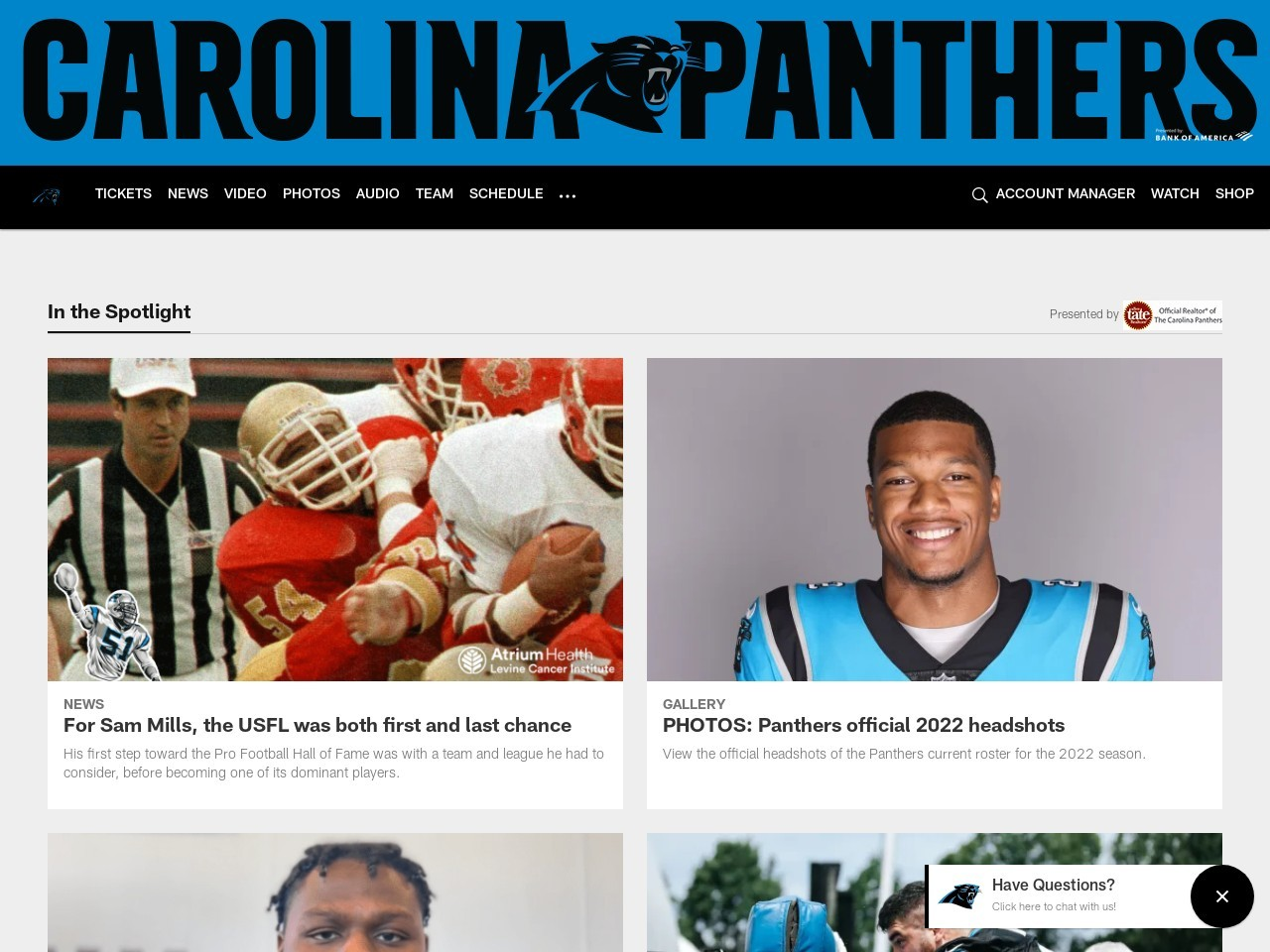 Behind The Scenes: Panthers On The Road