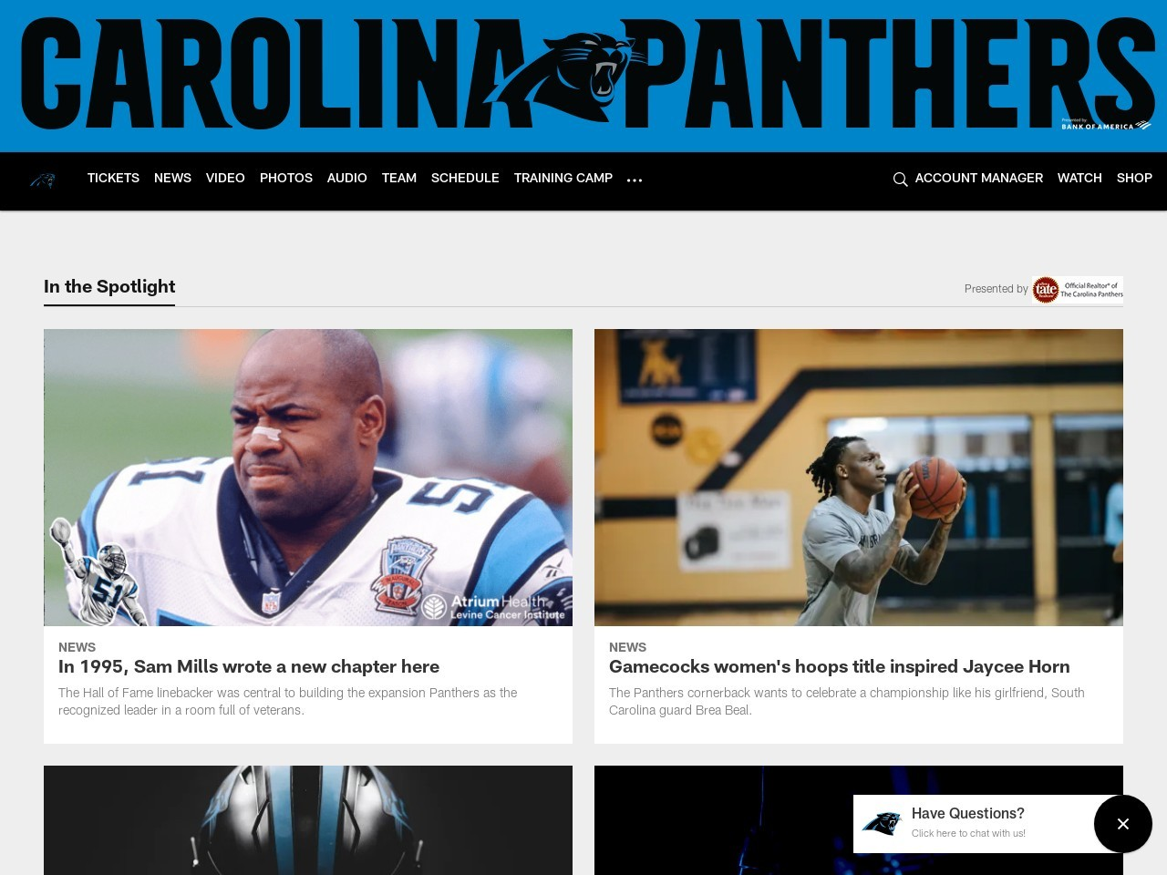 Panthers OTA Observations: Day 6